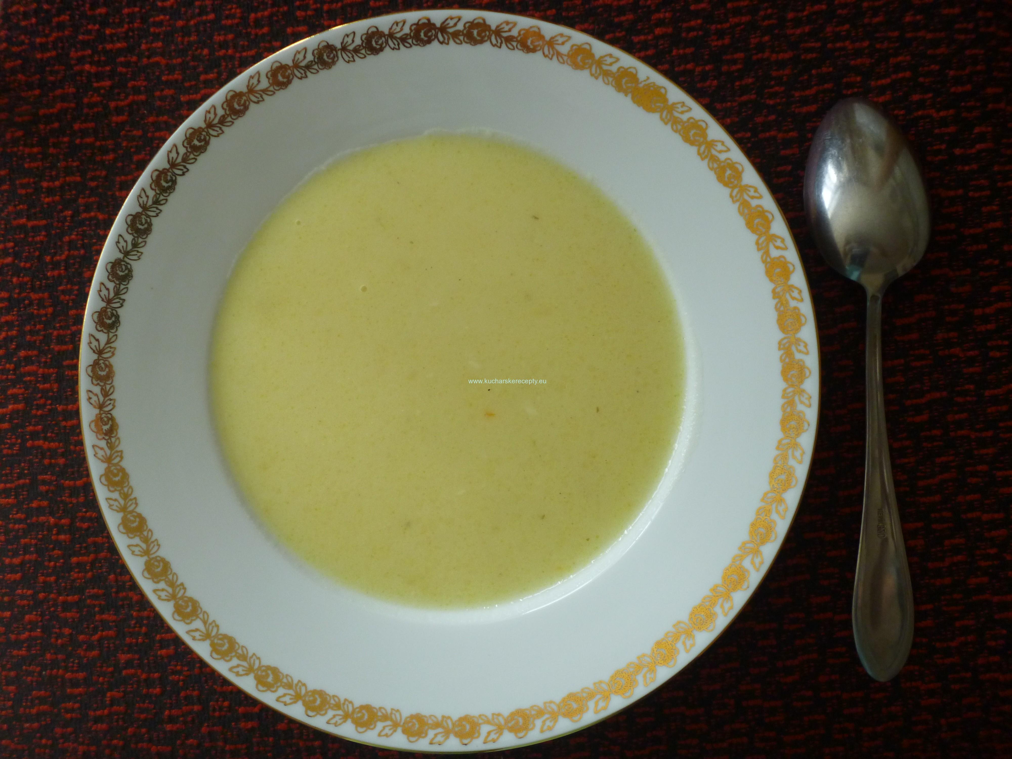 Zemiaková polievka na kyslo