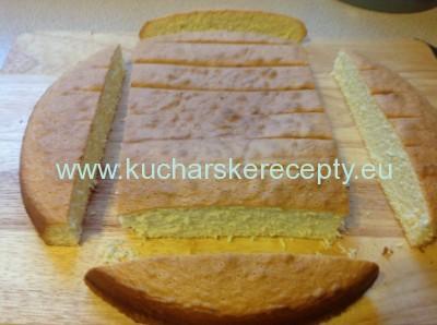 recept na tortu - postel pre babatko 1