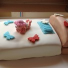 recept na tortu - postel pre babatko