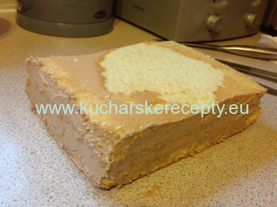 recept na tortu - postel pre babatko 4
