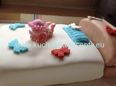 recept na tortu - postel pre babatko 14