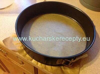 recept na tortovy korpus - forma