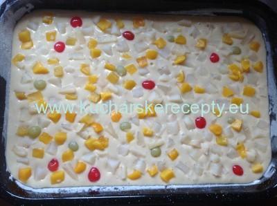 recept ovocna bublanina 1