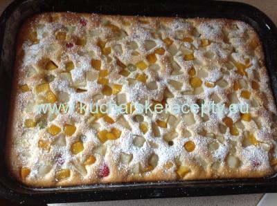 recept ovocna bublanina 2