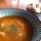 recept rascova polievka s vajcom
