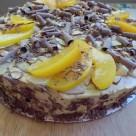 recept mandlova torta