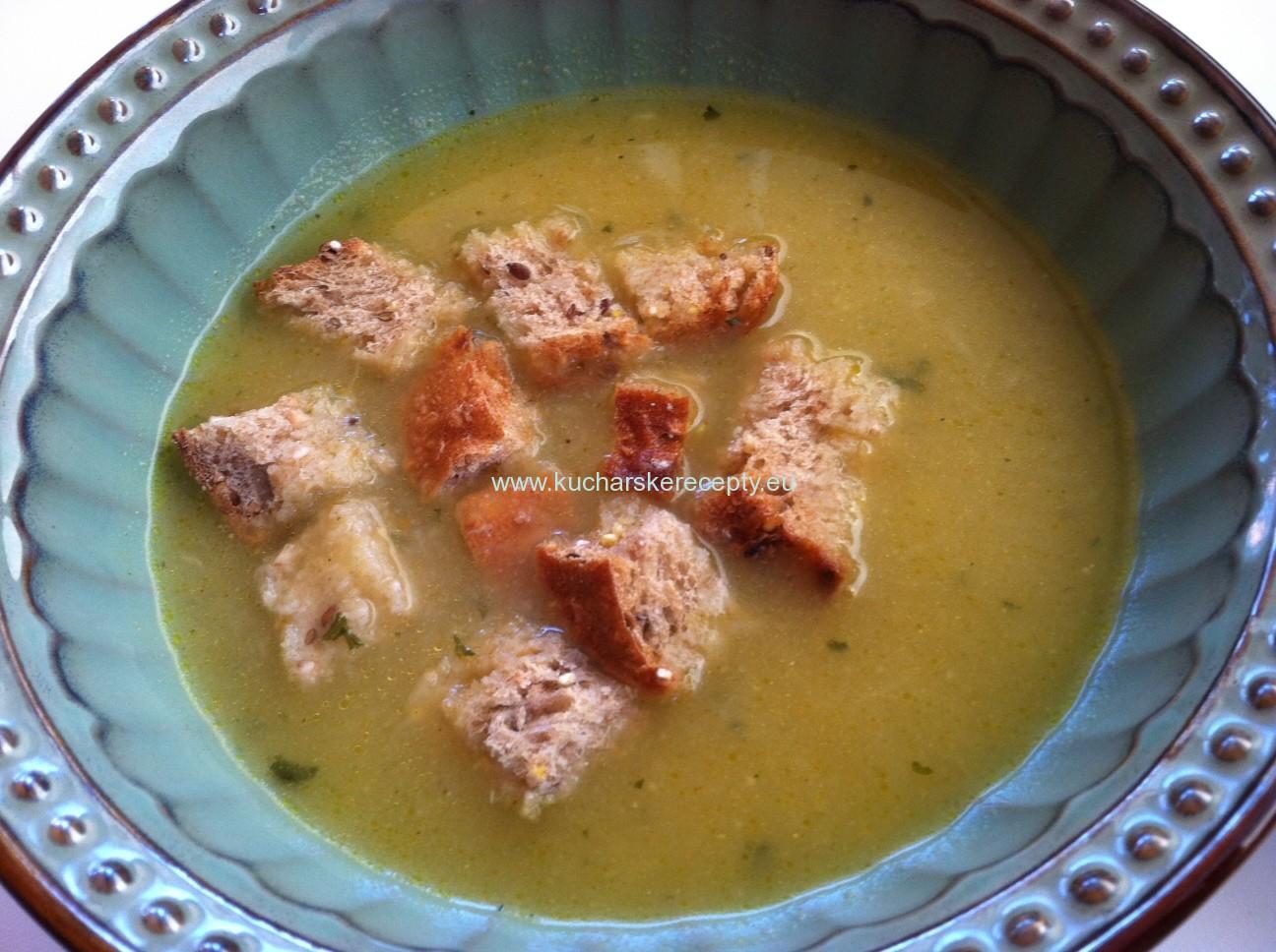 Krémová zeleninová polievka