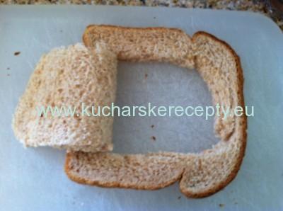 recept peceny chlieb s vajcom 1