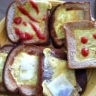 recept peceny chlieb s vajcom