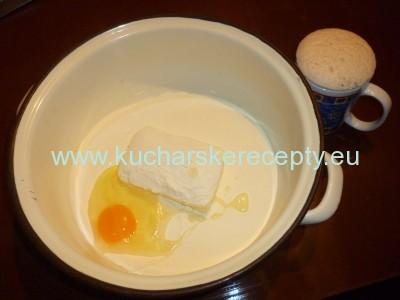 recept jablkovo-tvarohovy kolac 1