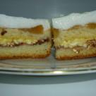 recept jablkovo-tvarohovy kolac
