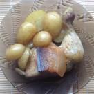 recept zapekane kuracie stehna so zemiakmi