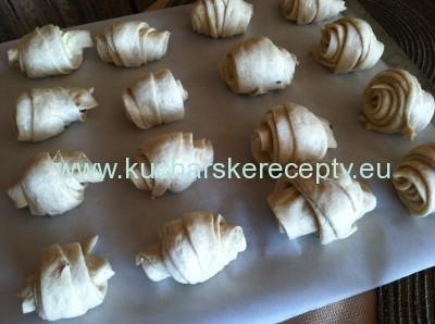 croissanty zamotanie recepty