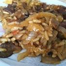 Hubove rizoto recept